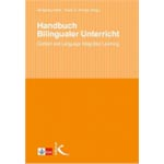 "Buchcover ""Handbuch Bilingualer Unterricht / Content and Language Integrated Learning"", Mitherausgeber Wolfgang Hallet"