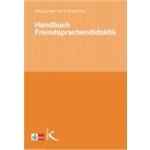 """Buchcover """"Handbuch Fremdsprachendidaktik"""", Mitherausgeber Wolfgang Hallet"""