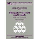 """Buchcover """"Bilingualer Unterricht macht Schule. Beiträge aus der Praxisforschung"""", Mitherausgeber Wolfgang Hallet"""