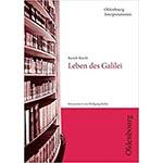 "Buchcover des Titels ""Bertolt Brecht, Leben des Galilei"", Autor Wolfgang Hallet"